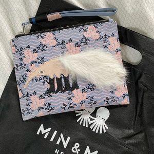 Min & Mon Leather Clutch